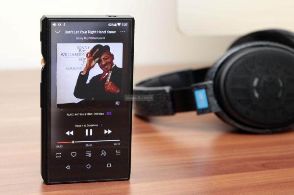FiiO M11 mobil zenelejátszó és Sennheiser HD 600 fejhallgató