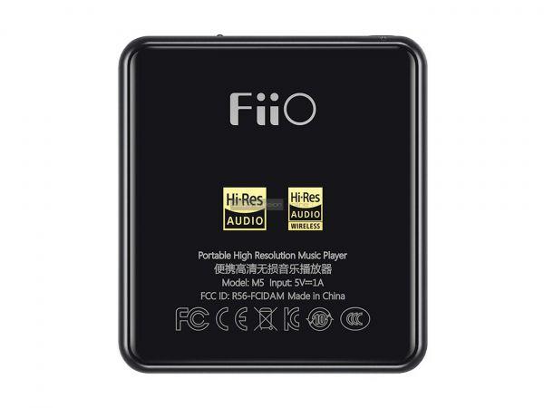 FiiO M5 mobil zenelejátszó hátlap