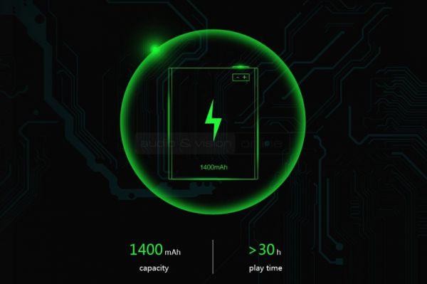 FiiO Q1 DAC és fejhallgató erősítő akkumlátor kapacitás