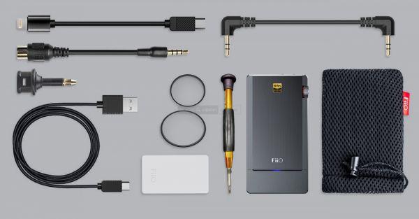 FiiO Q5 DSD DAC tartozékok