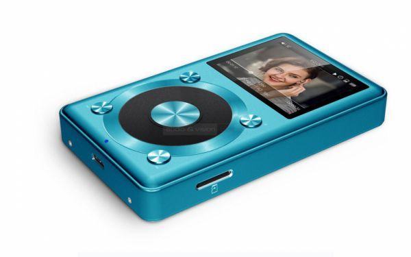 FiiO X1 kék színben