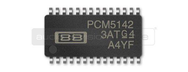 FiiO X1 mobil hifi lejátszó PCM5142 DAC chip