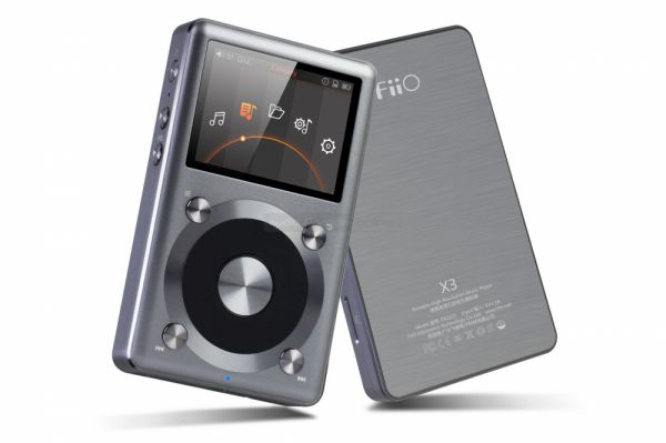 FiiO X3 II hordozható audio lejátszó és DSD DAC
