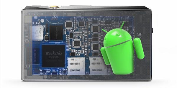 FiiO X5 3rd gen Android audio lejátszó