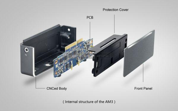 FiiO AM3 erősítő modul X7 lejátszóhoz