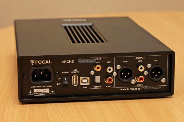 Focal Arche fejhallgató erősítő hátlap