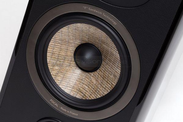 Focal Aria 906 állványos hangfal teszt membran