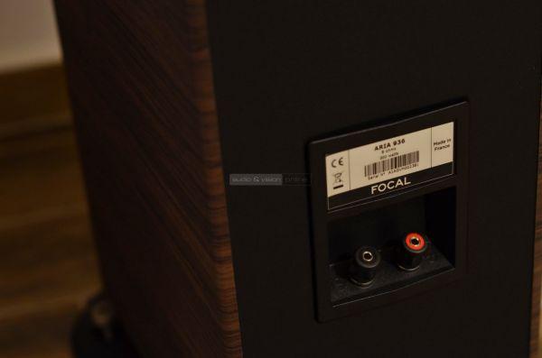 Focal Aria 936 hangfal csatlakozó