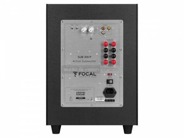 Focal Chorus Sub 300 P aktív mélyláda hátfal