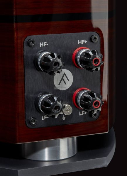 Fyne Audio F1.8 high end hangfal csatlakozó