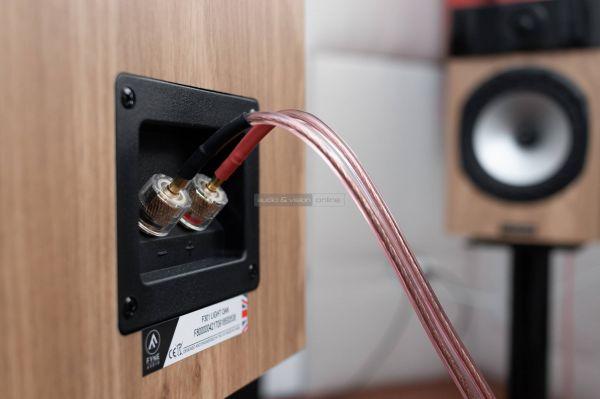 Fyne Audio F301 hangfal csatlakozó