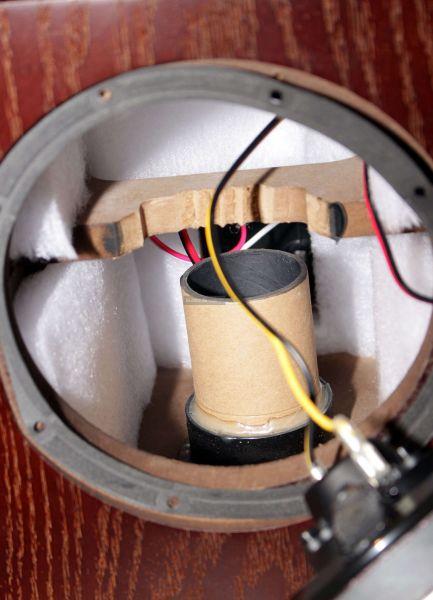 Fyne Audio F500 hangfal belső