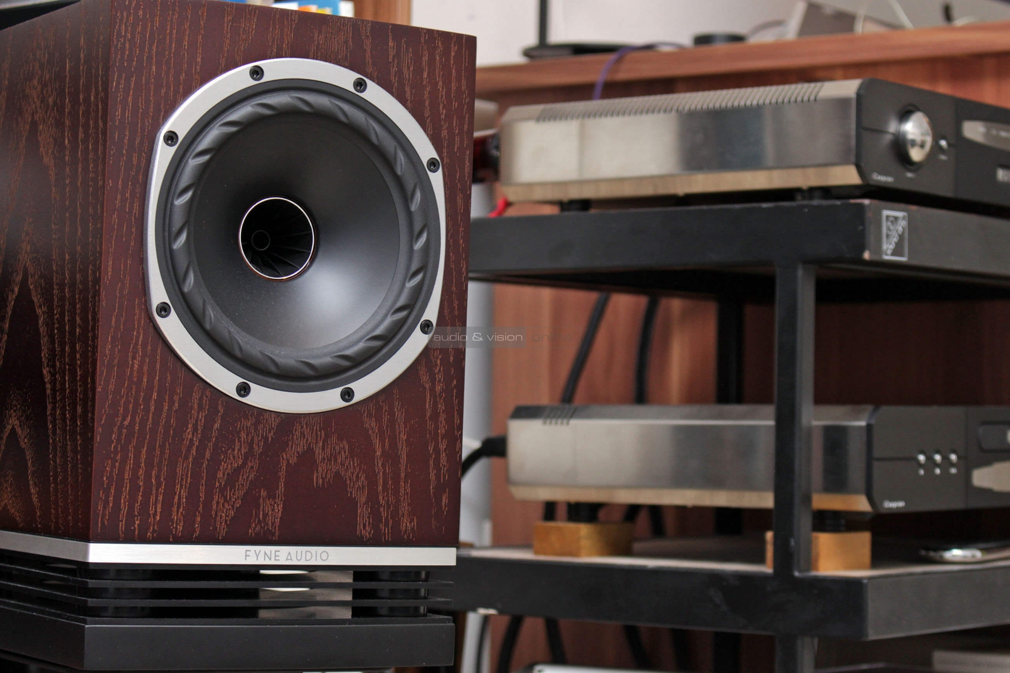 Fyne Audio F500 állványos hangfal teszt