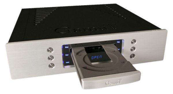 GamuT CD3 CD-lejátszó nyitott tálcával