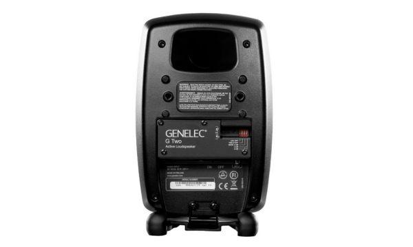 Genelec G Two aktív hangfal hátlap