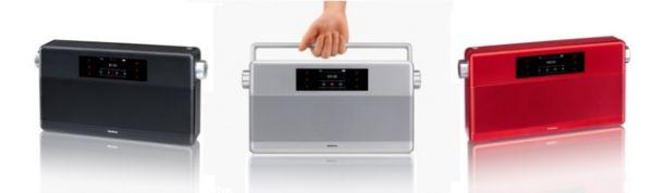 Geneva Sound System WorldRadio ultrakompakt Bluetooth hangrendszer DAB+ tunerrel