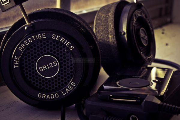 Grado SR125 hifi fejhallgató