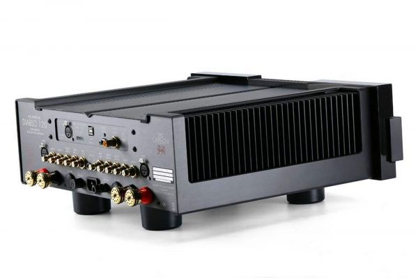 Gryphon Audio Diablo 120 sztereó erősítő hátlap