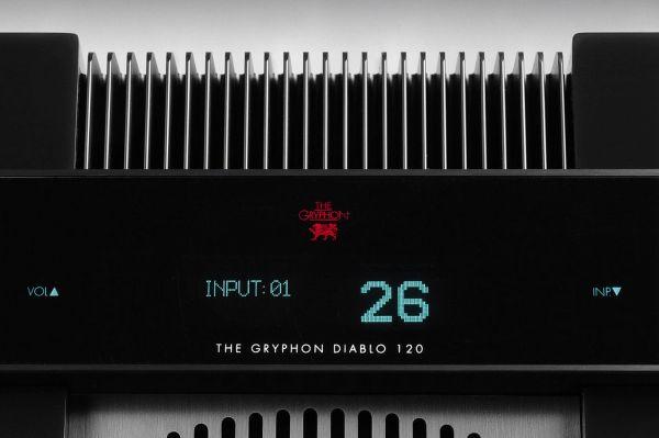 Gryphon Audio Diablo 120 sztereó erősítő kijelző