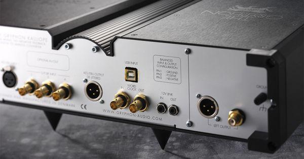 Gryphon Audio Kalliope DAC hátlap