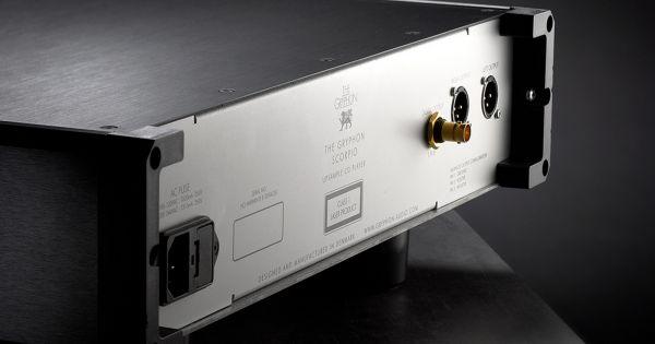Gryphon Audio Scorpio CD-lejátszó hátlap