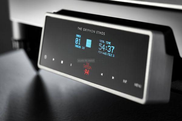Gryphon Ethos CD-lejátszó display