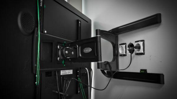 TV fali tartó konzol felhelyezésénél érdemes előre tervezni