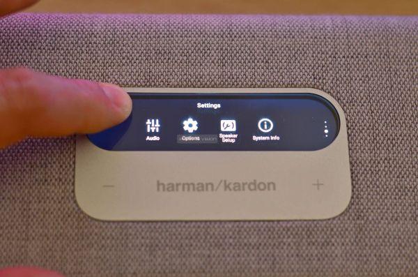 Harman Kardon Citation Multibeam 700 soundbar kijelző