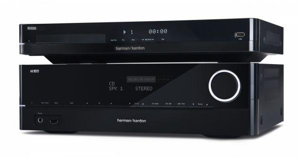 Harman Kardon HK 3700 integrált sztereó erősítő és HD 3700 CD-lejátszó