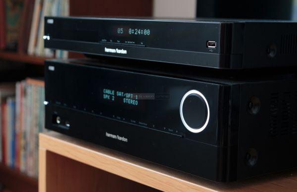Harman Kardon HK 3770 integrált sztereó erősítő és HD 3700 CD-lejátszó