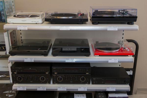 Házimozi Budapest - TEAC és Audio Technica lemezjátszók
