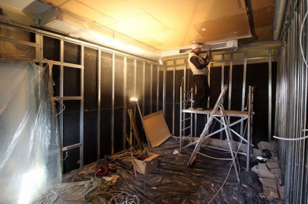 Házimozi Stúdió TRON moziszoba építés