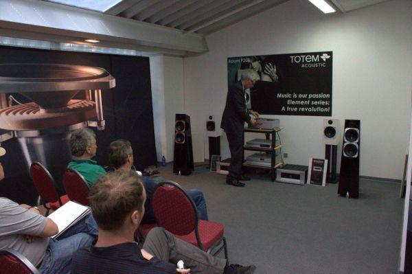 Totem Acoustic hangfalak High End 2013 München