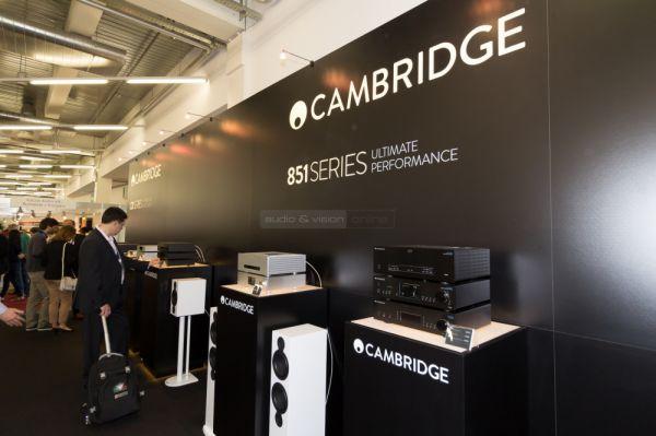 HIGH END 2015 Cambridge Audio