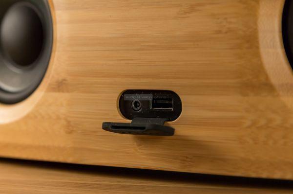 House of Marley Bag of Riddim 2 Bluetooth hangrendszer front csatlakozók