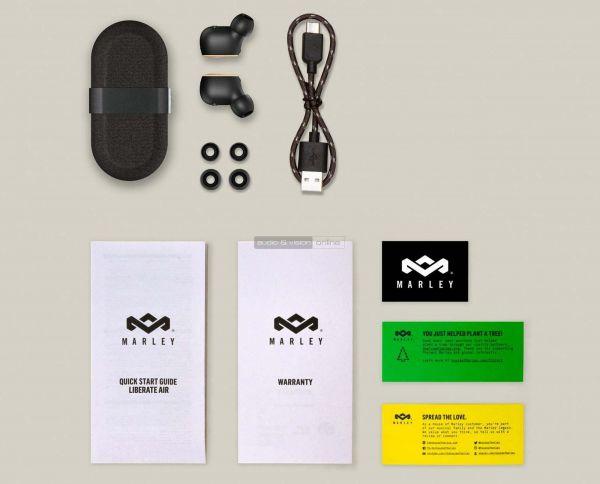 House of Marley Liberate Air TWS Bluetooth fülhallgató tartozékok