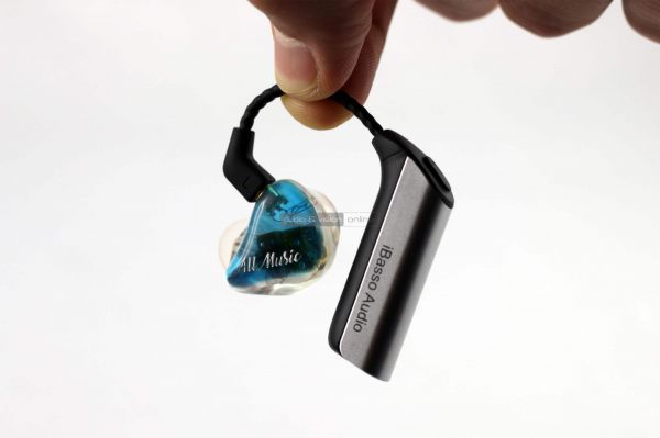 iBasso CF01 Bluetooth adapter AM05 fülhallgató