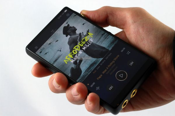 iBasso DX160 mobil zenelejátszó