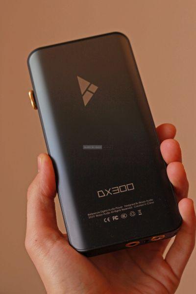 iBasso DX300 mobil zenelejátszó hátlap