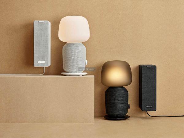 IKEA Symfonisk hangszóró és asztali lámpa