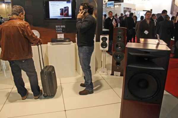 ISE 2012 Harman stand