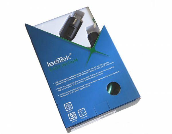 Isotek EVO3 Initium tápkábel dobozában