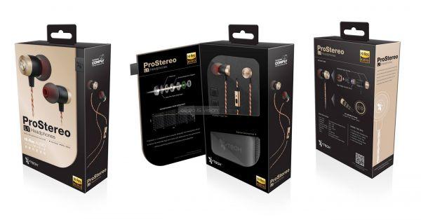 iTech ProStereo L1 fülhallgató doboz