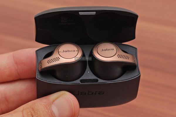Jabra Elite 65t Bluetooth fülhallgató dokkoló