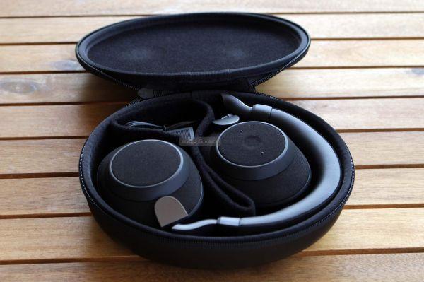 Jabra Elite 85h aktív zajzáras Bluetooth fejhallgató tok