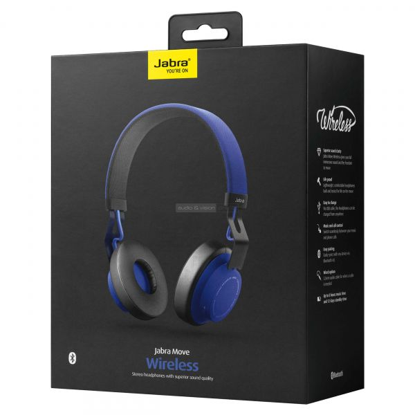 Jabra Move Wireless Bluetooth fejhallgató
