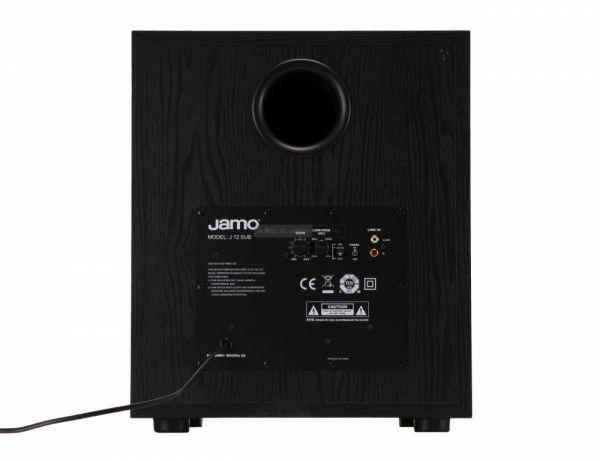 Jamo J 12 SUB aktív mélyláda hátlap