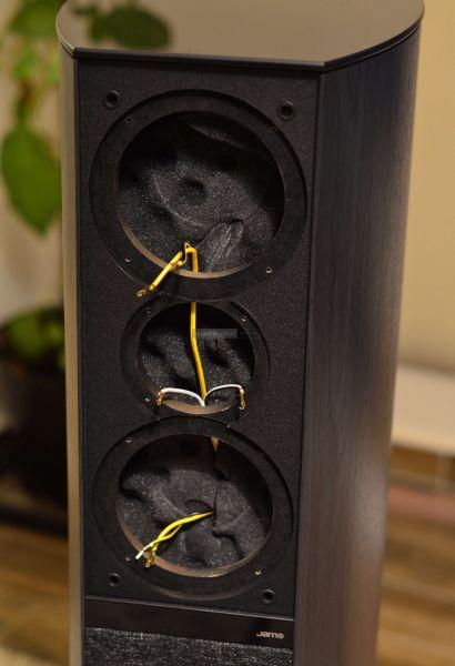 Jamo D 590 50th Anniversary Special Edition hangfal belső