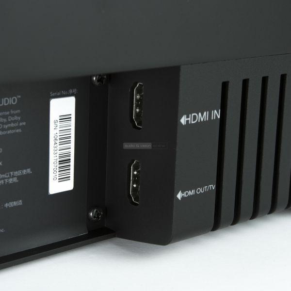 Jamo SB 40 soundbar HDMI csatlakozók