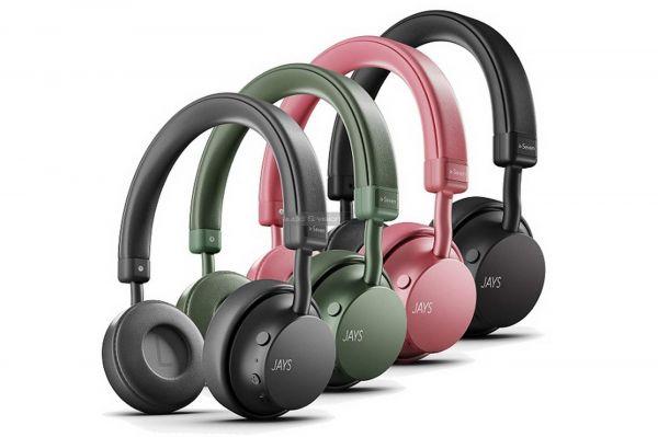 Jays a-Seven Wireless Bluetooth fejhallgató színek
